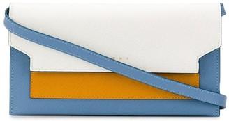 Marni Bellows shoulder strap wallet