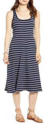 Treasure & Bond Stripe Tank Midi Dress
