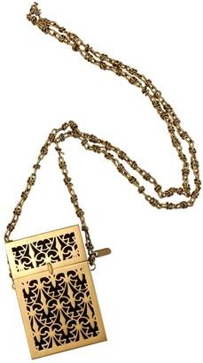 Bally Gold Metal Clutch bags