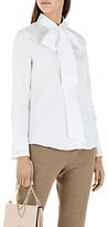 Marc Cain Pussycat Bow Blouse, White