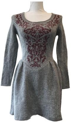 Vivienne Westwood Grey Wool Dresses