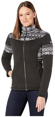 Spyder Bella Full Zip Fleece Jacket (Black) Women's Coat