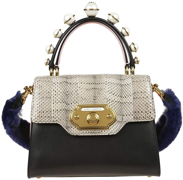 Dolce & Gabbana Embellished Top Handle Tote