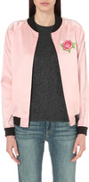 Opening Ceremony Embroidered silk bomber jacket