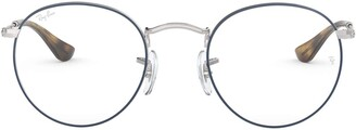 Ray-Ban RX3447V Round Metal Eyeglass Frames Non Polarized Prescription Eyewear
