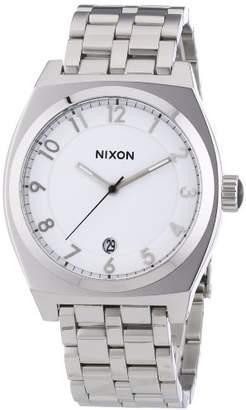 Nixon Men's Quartz Watch The Monopoly High Polish A325945-00 with Metal Strap