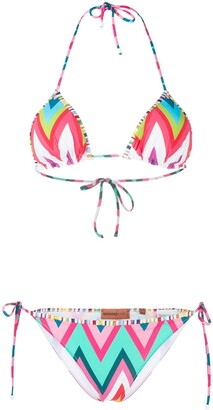Missoni Mare Bold Striped Bikini