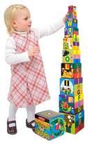 Melissa & Doug Deluxe 10-Piece Alphabet Nesting and Stacking Blocks