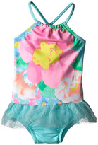 Seafolly Spring Bloom Apron Tank Top One Piece (Infant/Toddler/Little Kids)