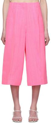 Jacquemus Pink Le Short DHomme Shorts