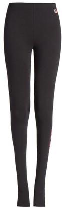 Balenciaga Gym Wear Cut-Out Footed Leggings