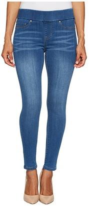 Liverpool Petite Sienna Pull-On Ankle in Silky Soft Denim Coronado Mid (Coronado Mid) Women's Jeans