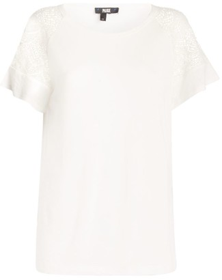 Paige Finley Lace-Sleeve Top