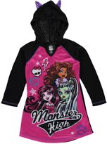 "Monster High Little Girls' ""Sleepover"" Hooded Nightgown"
