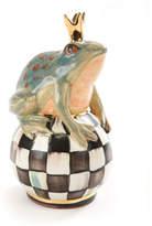 Mackenzie Childs MacKenzie-Childs Frog on Courtly Check Ball