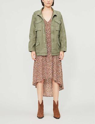 Frame Slim-fit cotton-jersey jacket