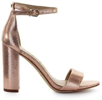 Sam Edelman Yaro Rose Gold Heeled Sandal