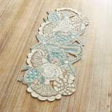 Pier 1 Imports Sea Glass Bay Beaded Table Runner