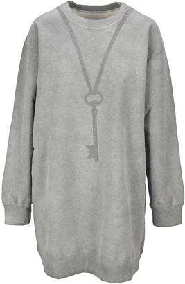 MM6 MAISON MARGIELA Key Print Fleece Sweatshirt
