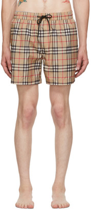 Burberry Beige Grafton Swim Shorts