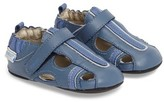 Robeez Infant Boy's 'Rugged Rob' Fisherman Sandal