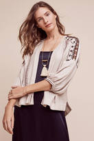 Burning Torch Golden Circle Embroidered Jacket