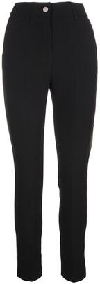Blumarine Woman Black Slim Fit High Waist Pant