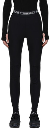 Ambush Black Scuba Leggings