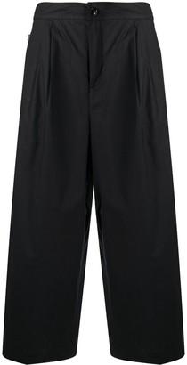 Woolrich Wide-Leg Cropped Trousers