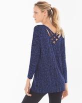 Soma Intimates Cross-Back Tunic Splendor Mini Royal Blue
