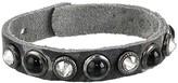 Leather Rock Destiny Bracelet (Snake Bone) Bracelet