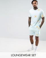 Asos Pyjama Set With Egg Print