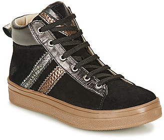 GBB KIBEL girls's Shoes (High-top Trainers) in Black