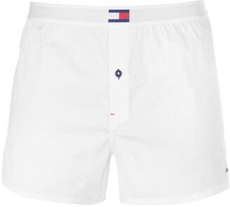Tommy Bodywear Flag Woven Boxer Shorts