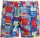 LE SIRENUSE, POSITANO Afrika cotton shorts
