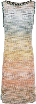 Missoni Metallic Crochet-knit Dress