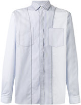 Lanvin pinstripe seam pattern shirt
