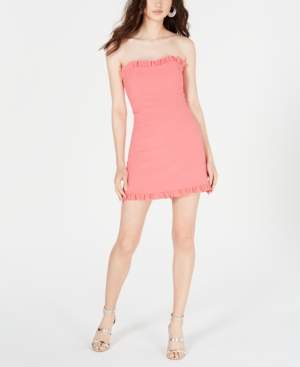 French Connection Ruffled Strapless Dress