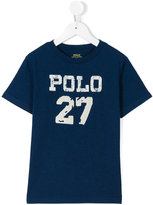 Ralph Lauren Polo 27 print T-shirt - kids - Cotton - 2 yrs