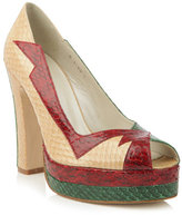 Terry De Havilland Luna snakeskin shoes