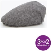 Very Boys Herringbone Flat Cap
