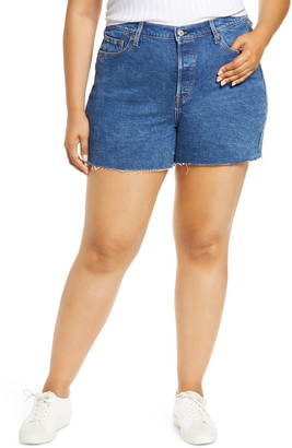 Levi's 501(R) Original Raw Hem Denim Shorts