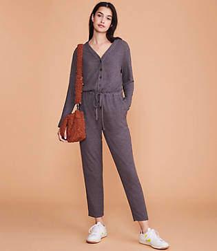Lou & Grey Toasty Knit Jumpsuit