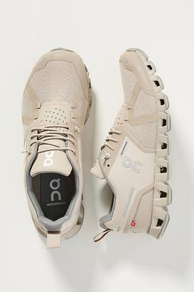 On Cloud Waterproof Sneakers By in Beige Size 6