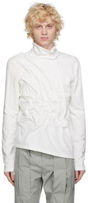 Post Archive Faction (PAF) Post Archive Faction PAF White 3.1 Left Long Sleeve T-Shirt