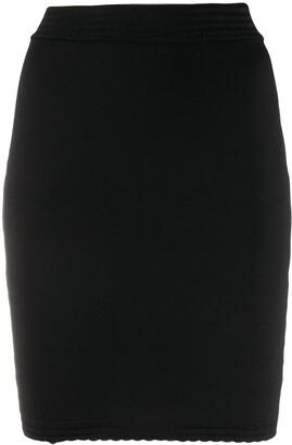 Alaïa Pre-Owned Stretch Mini Skirt