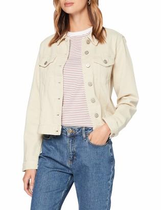 Pieces Women's Pclou L/s Coloured Denim Jacket-vi/cp