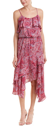 Parker Handkerchief Midi Dress