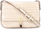 Elizabeth and James crocodile-embossed satchel - women - Acetate - One Size