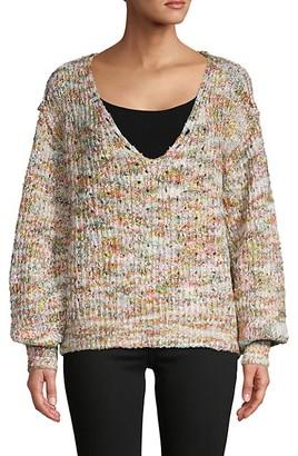 Free People Highland Chunky-Knit Sweater